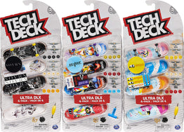 Tech Deck Skateboard 4 Pack