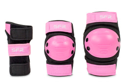 SFR Youth Ramp Triple Pad Set - Black/Pink