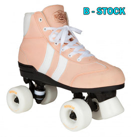 Rookie Authentic V2 Rollerskates - Pink / White (B-Stock)