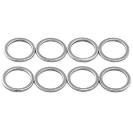 Skateboard Axle Washers / Speed Rings 8mm Pack of 8