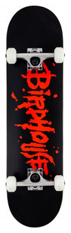 Birdhouse Complete Stage 1 Skateboard - Blood Logo - Black/Red