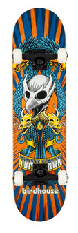 Birdhouse Stage 3 Emblem Circus Complete Skateboard - Orange