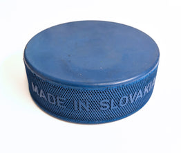 Lightweight Blue Ice Hockey Puck