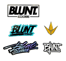 Blunt Scooters 5 Piece Sticker Pack
