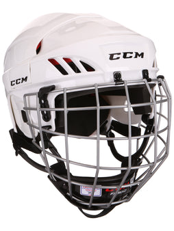 CCM 50 Hockey Helmet Combo - White