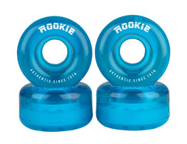 Rookie Disco Quad Wheels 4 Pack 58mm - Clear Blue