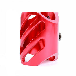 District Triple Light Clamp Red Oversized