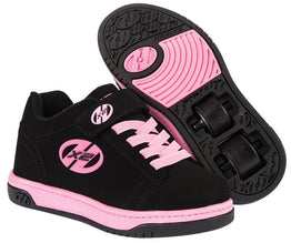 Heelys Dual Up Shoes - Black/Pink