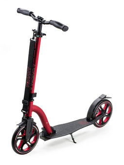 Frenzy 215 Recreational Scooter - Black / Red