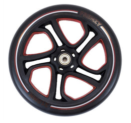 Frenzy 215mm Scooter Wheel Black / Red