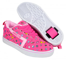 Heelys Gr8 Pro Shoes - Hot Pink / Light Pink / Emoji