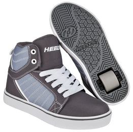 Heelys Uptown Shoes - Black Charcoal White