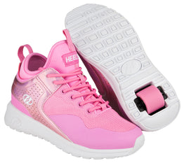 Heelys Piper Shoes - Light Pink / Pink Hologram Metal