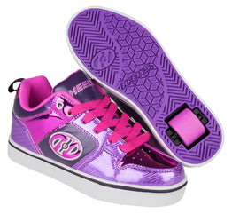 Heelys Motion Plus Shoes - Purple/Pink Shimmer/Grape