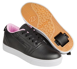 Heelys GR8 Pro Shoes - Black / Light Pink
