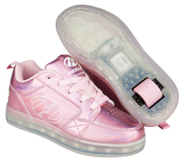 Heelys Premium 2 Lo Shoes - Light Pink/Hologram