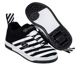 Heelys Rift Shoes - Black/White/Stripe