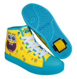 Heelys Hustle Spongebob Edition Shoes - Light Yellow/Deep Aqua/ Seaweed