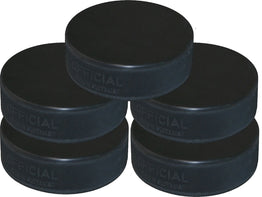 Ice Hockey Puck - 5 Pack