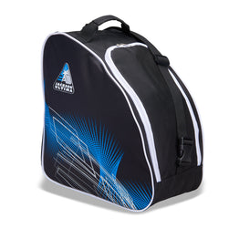 Jackson Oversized Ice Skate Bag - Black / Blue