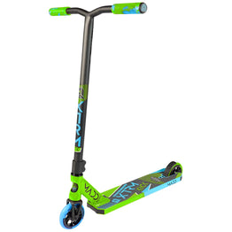 Madd Kick Extreme V5 Stunt Scooter - Lime/Blue + Free Madd T-Shirt
