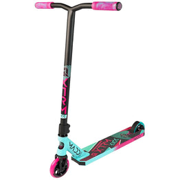Madd Kick Extreme V5 Stunt Scooter - Teal/Pink + Free Madd T-Shirt