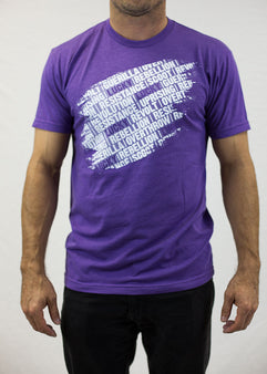 Lucky Revolution T-Shirt Purple Large