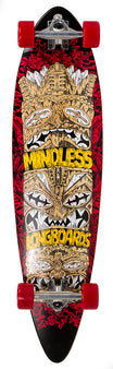 Mindless Tribal Rogue IV Complete Longboard - Red