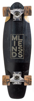 Mindless Stained Daily 3 Cruiser Skateboard - Black/Bronze