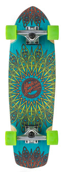 Mindless Mandala Cruiser Skateboard - Blue