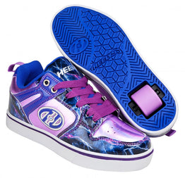 Heelys Motion 2.0 Shoes - Lilac / Electric Blue / Lightning