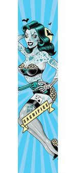Sacrifice Graphic Scooter Grip Tape - Pin Up Girl