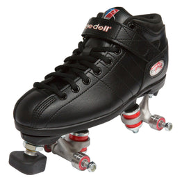 Riedell R3 Assembly Roller Skate - Black