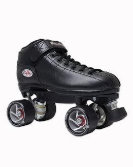 Riedell R3 Custom Roller Skates - With Rollerbones Turbo Wheels