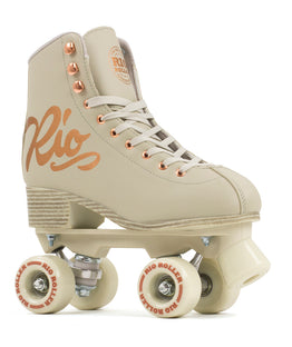 RIO ROLLER ROSE QUAD SKATES - Cream