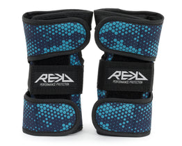 Rekd Dual Splint Wrist Guards - Blue