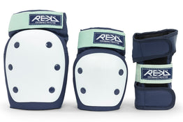 Rekd Heavy Duty Triple Pad Set - Blue / Mint