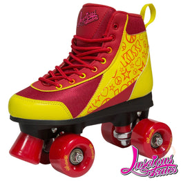 Luscious Quad Skates - Ruby Red