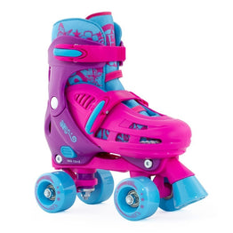SFR Hurricane Adjustable Quad Skate Pink