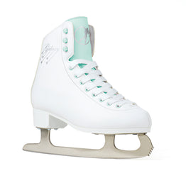 SFR Galaxy Cosmo Ice Skates - White/Teal