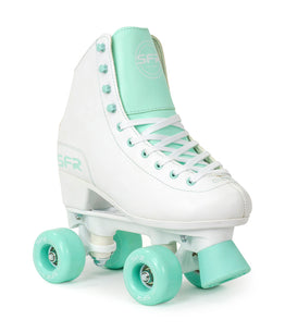 SFR Figure Quad Skates - White / Green
