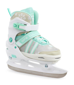 SFR Nova Adjustable Childrens Ice Skates - White / Teal