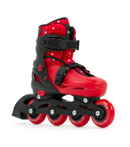 SFR Plasma Adjustable Inline Skates - Red