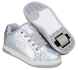 Heelys Split Shoes - Silver Hologram / Water Drop