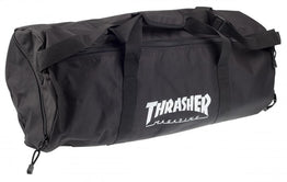 Thrasher Logo Duffel Bag - Black