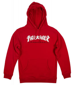 Thrasher Skateboards Godzilla Hoodie - Red
