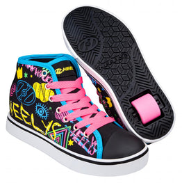Heelys Veloz Shoes - Black / Rainbow / Scribble