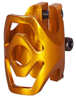 District Triple Light Clamp - Gold Standard Size