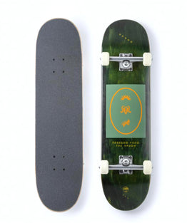 "Arbor Street Whiskey Recruit Complete Skateboard 8"" - Green"
