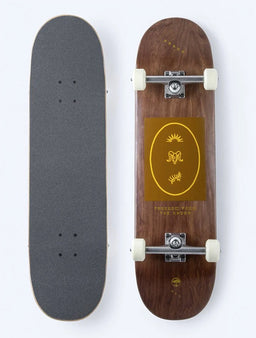 "Arbor Street Whiskey Recruit Complete Skateboard 8.5"" - Brown"